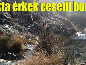 Irmakta erkek cesedi bulundu