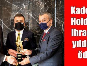 Kadooğlu Holding'e ihracatın yıldızları ödülü