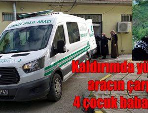 Kaldırımda yürürken aracın çarptığı 4 çocuk babası öldü