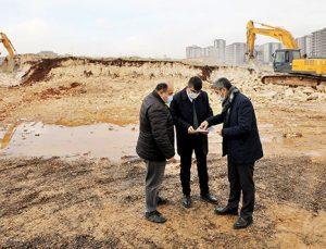 Karacaahmet'te bir park daha yapılıyor