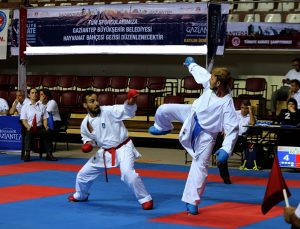 Karatenin gençleri Gaziantep'te buluşuyor