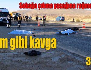 Katliam gibi kavga: 5 ölü 3 yaralı