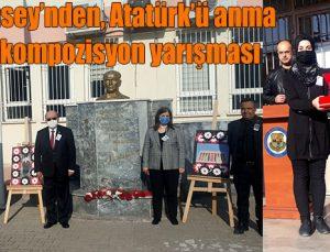 Kent Konsey'nden, Atatürk'ü anma konulu kompozisyon yarışması