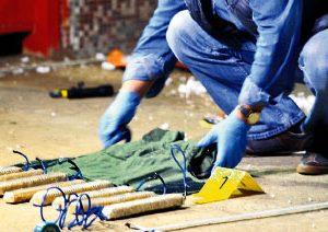 Kilis'te canlı bomba yeleği bulundu