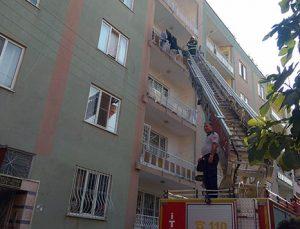 Kilis'te mutfak tüpü patladı: 2 yaralı