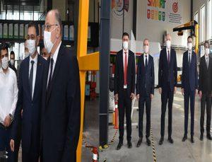 KOÇER'DEN MODEL FABRİKA'YA ZİYARET