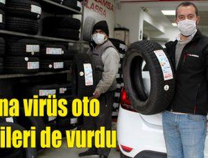 Korona virüs oto lastikçileri de vurdu