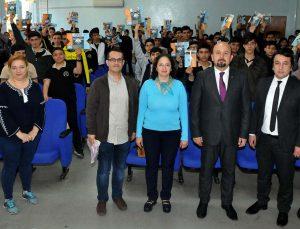 Lise öğrencilerine GASİMEP projesi anlatıldı