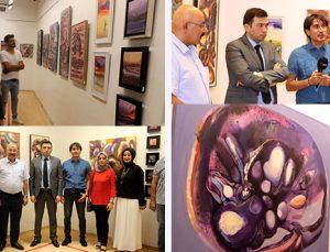 Mehmet Akif Orçan'ın resim sergisi açıldı