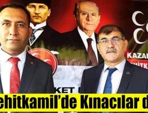 MHP Şehitkamil'de Kınacılar dönemi
