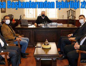 Oda-Borsa Başkanlarından işbirliği ziyaretleri
