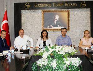 Oda ve Borsa Genel Sekreterleri GTB'de buluştu