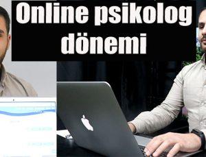 Online psikolog dönemi