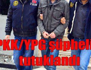 PKK/YPG şüphelisi tutuklandı