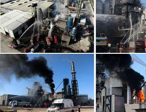 Plastik fabrikasında yangın: 20 yaralı