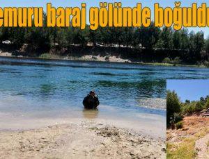 Polis memuru baraj gölünde boğuldu