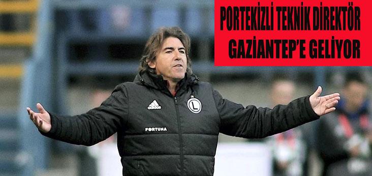 Portekizli Teknik Direktör Gaziantep'e Geliyor