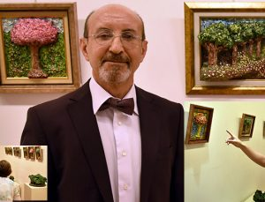 """Prof. Dr. Semih Mumbuç'tan """"Doğa ve Renkler"""" sergisi"""