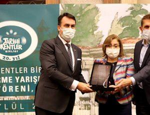 Sabun Hanı projesi ve Ben Antep'im filmine ödül