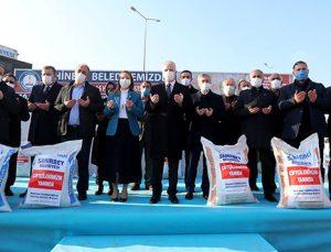 ŞAHİNBEY BELEDİYESİ'NİN YEM DESTEĞİ 24.000 TON'U BULDU