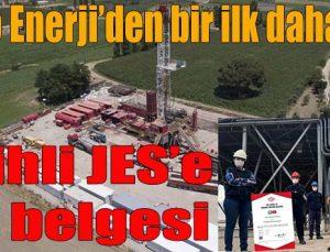 Salihli JES'e TSE belgesi