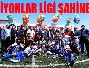 ŞAMPİYONLAR LİGİ ŞAHİNBEY'DE