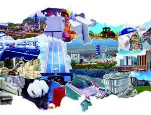 SANKO dış ticaret, bölge ihracatının lideri