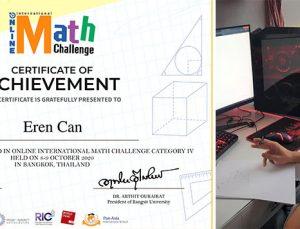 SANKO Okullarının uluslararası matematik yarışması başarısı