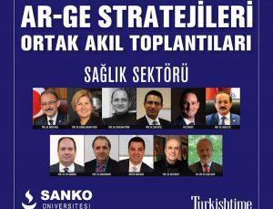 SANKO Üniversitesinden ar-ge stratejileri ortak akıl toplantısı