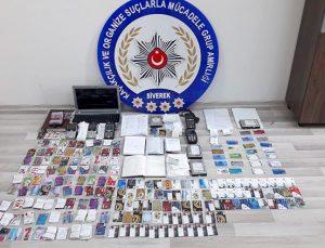 Şanlıurfa'da tefecilere operasyon: 12 gözaltı