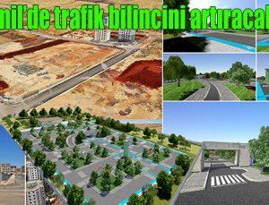 Şehitkamil trafik parkının yapım çalışmaları başladı