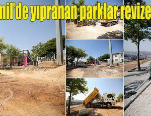 Şehitkamil'deki yıpranan parklar revize ediliyor