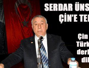 SERDAR ÜNSAL'DAN ÇİN'E TEPKİ