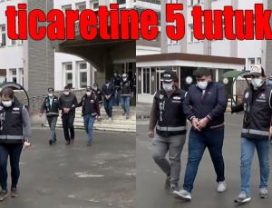 Silah ticaretine 5 tutuklama