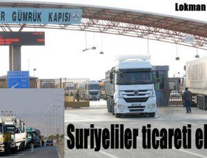 Suriyeliler ticareti ele geçirdi