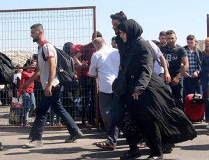 Suriyelilerin Kurban bayramı yolculuğu başladı