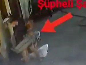 Tamir atölyesindeki hırsızlık anları güvenlik kamerasında