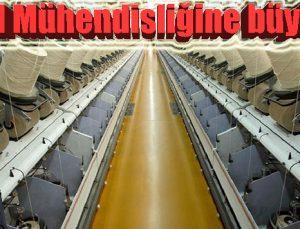 Tekstil Mühendisliğine büyük ilgi