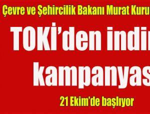 TOKİ'den indirim kampanyası