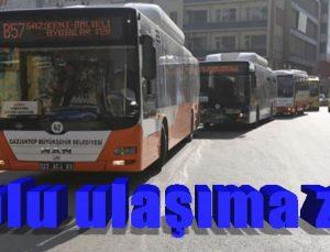 Toplu ulaşıma zam