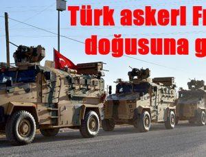 Türk askeri Fırat'ın doğusuna geçti
