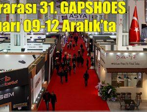 Uluslararası 31. GAPSHOES yaz fuarı 09-12 Aralık'ta