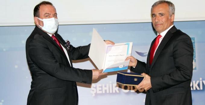 Coğrafi işaretleme ödülü Büyükşehir'in