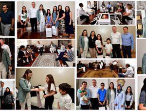 Vali Gül'den LGS birincilerine sürpriz ziyaret