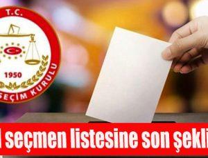 YSK İstanbul seçimi için seçmen listesine son şeklini verdi
