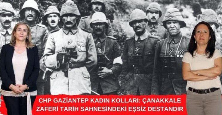 Çanakkale Savaşları Türkiye'nin eşsiz destanıdır