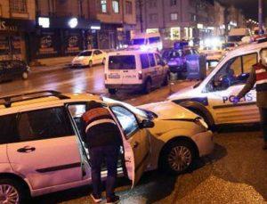Hırsızlık zanlısı polise ateş açtı