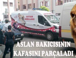 GAZİANTEP HAYVANAT BAHÇESİ'NDE DEHŞET