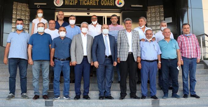 Nizip Belediye Başkanı Mehmet Sarı'yı Ağırladı