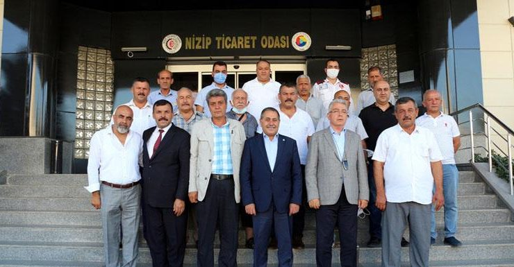 İYİ Parti Heyeti Nizip Ticaret Odasını Ziyaret Etti